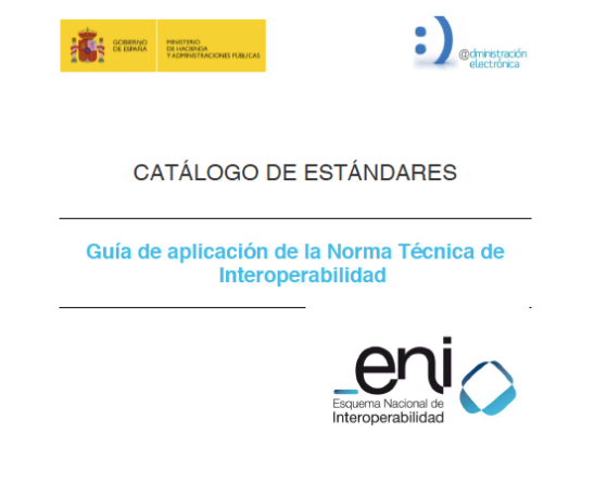 Guía de aplicación de la Norma Técnica de Interoperabilidad de Catálogo de estándares