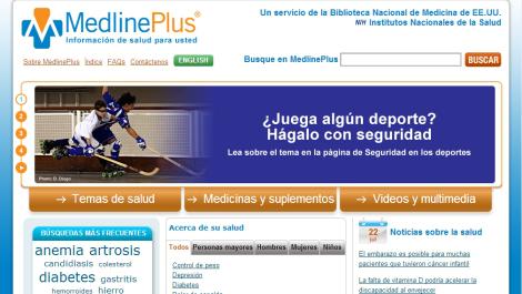 Portal Web MedlinePlus